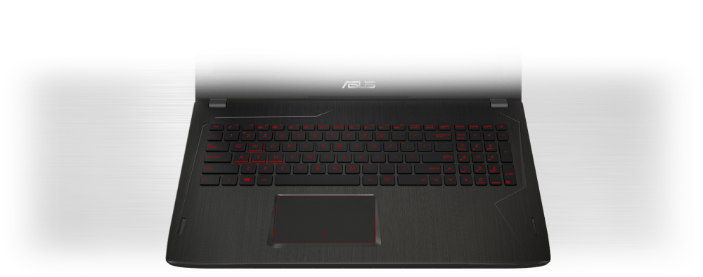 Herný notebook ASUS FX séria