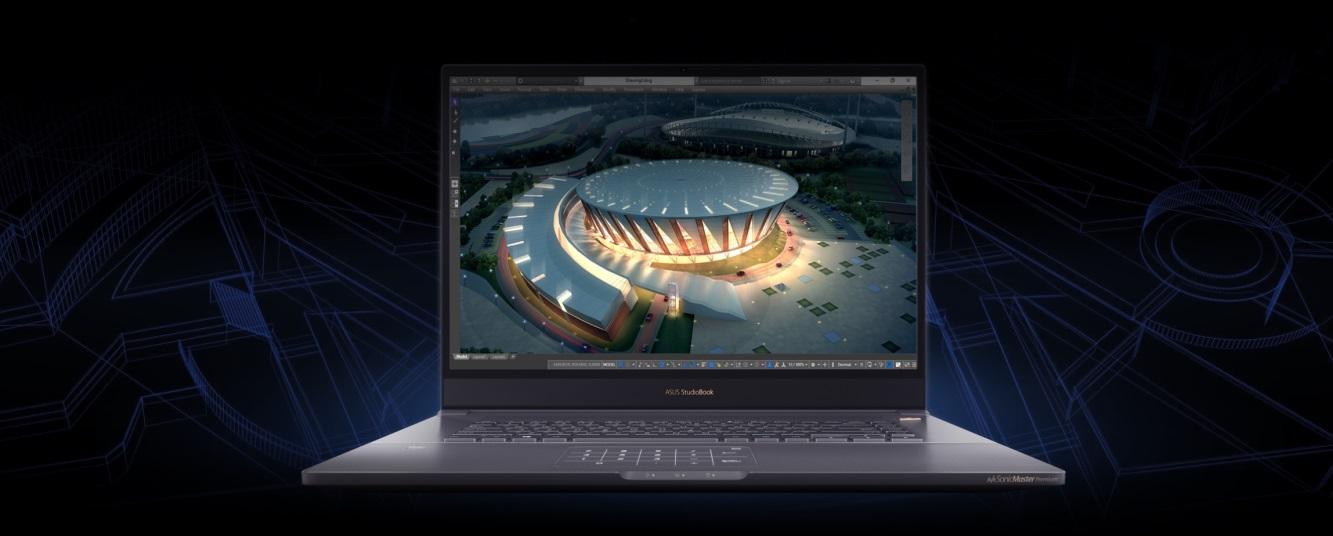 Profesionálny notebook ASUS ProArt StudioBook Pro 17