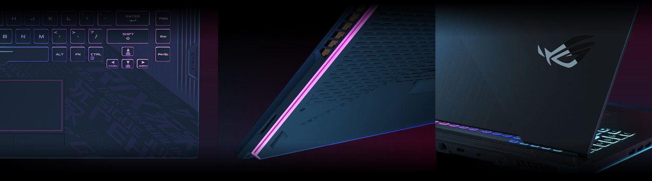 Herný notebook ASUS ROG Strix G15/17
