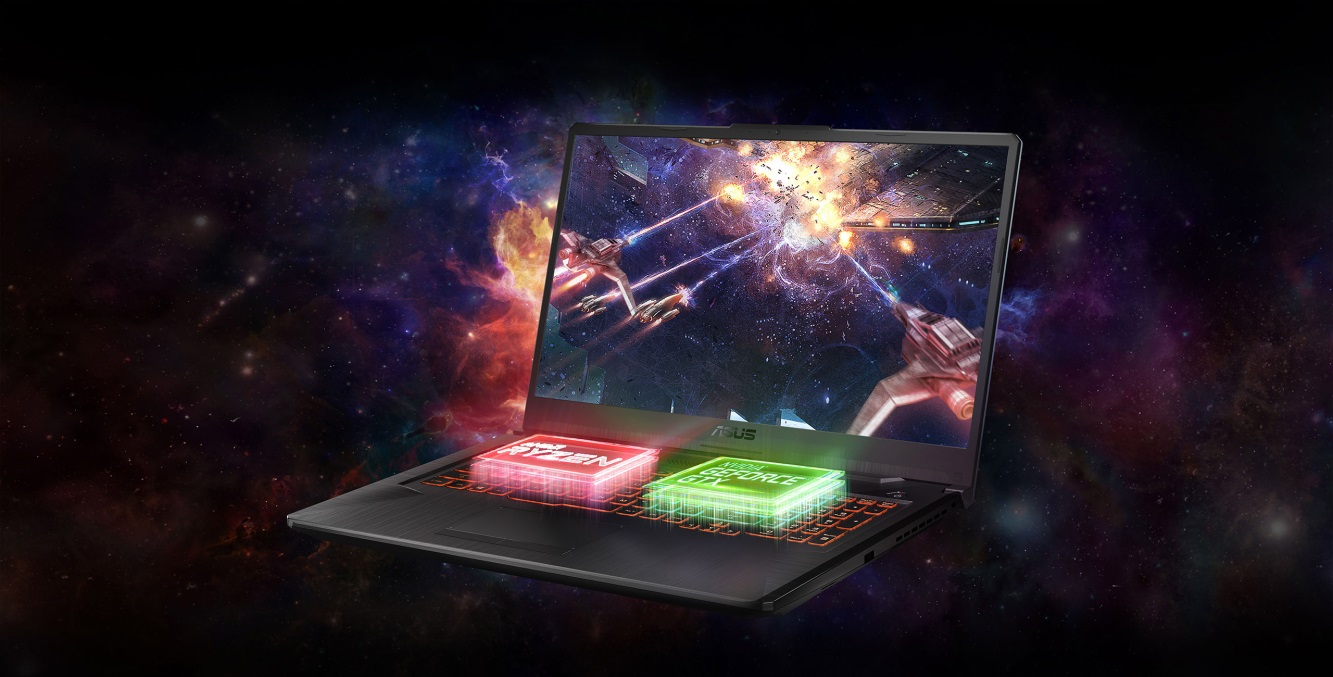 Herný notebook ASUS TUF Gaming A17