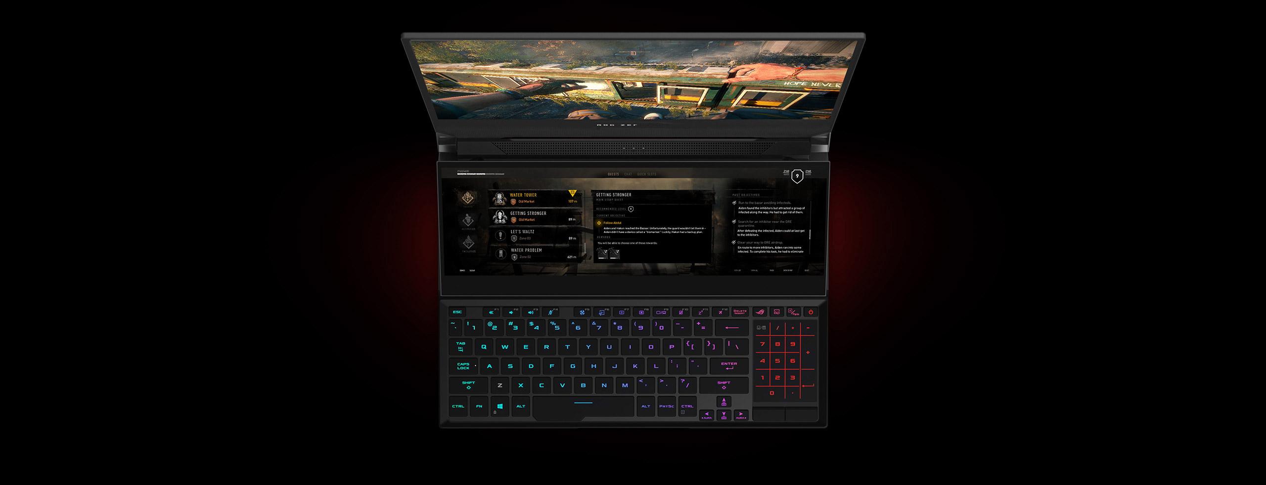 Herný notebook Asus ROG Zephyrus Duo 15
