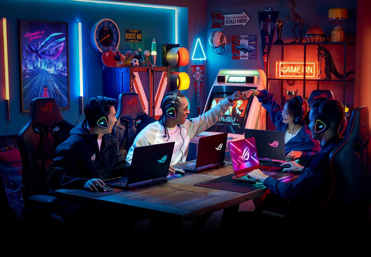 Asus a ROG - lídri na trhu herných notebookov