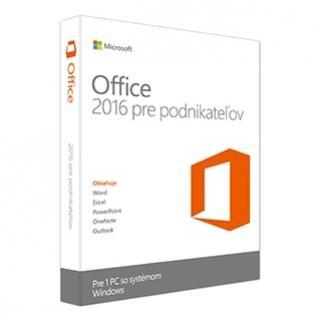 MICROSOFT Office 2016 pre Podnikateľov ESD
