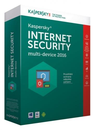 Kaspersky Internet Security 3+1 PC/1rok