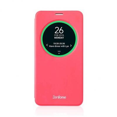 ASUS View Flip Cover pre ZenFone 2 ZE500 červené