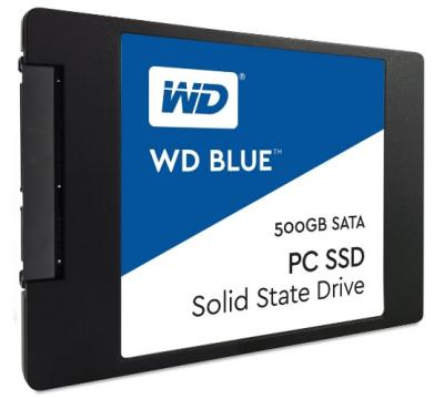 "Western Digital SSD 2,5"" 500GB Blue 3D NAND"
