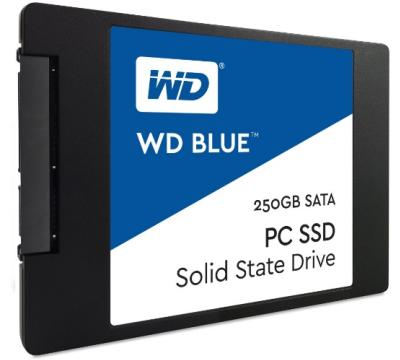 "Western Digital SSD 2,5"" 250GB Blue 3D NAND"