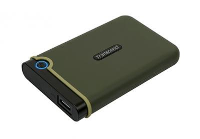 "Transcend Externý disk 2.5"" StoreJet 25M3S 2TB USB3.0 Anti-Shock"