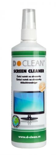 D-Clean Čistiaci roztok na obrazovky 250 ml