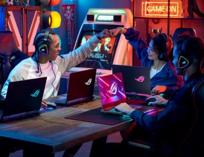 Asus a Republic of Gamers - lídri na trhu herných notebookov