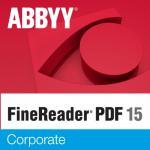 ABBYY FineReader PDF 15 Corporate Single User License (ESD) Perpetual